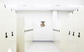 사우나, 락카실 내부 사진